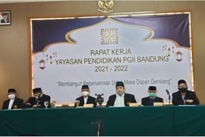 Rapat Kerja Tahun 2021/2022  YP PGII Bandung